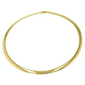 """Jewelry - 14KT GOLD 4mm OMEGA 16"""" Chain"""